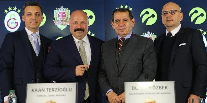 Galatasaray Turkcell'le anlaştı