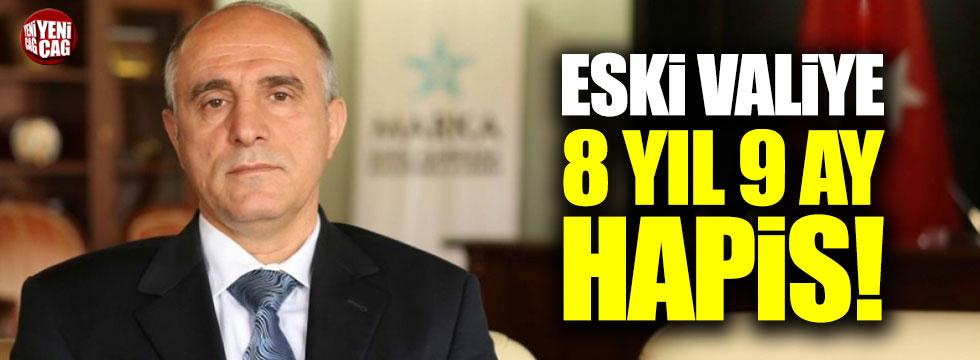 Eski Bolu Valisi İbrahim Özçimen'e 8 yıl 9 ay hapis