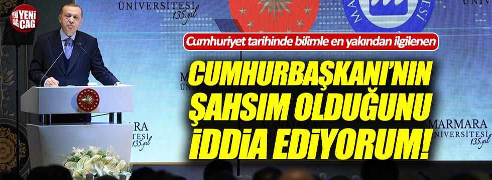 Erdoğan: Cumhuriyet tarihinde bilimle en çok ilgilenen Cumhurbaşkanı benim