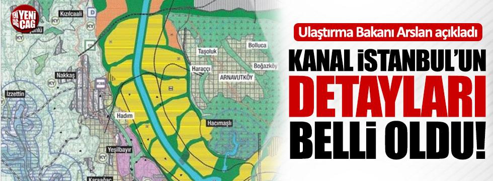 Kanal İstanbul'un ayrıntıları belli oldu