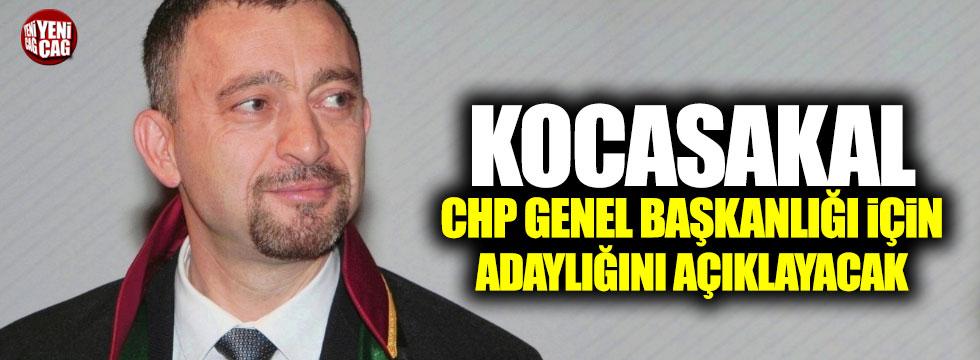 Ümit Kocasakal CHP Genel Başkanlığına aday olacak