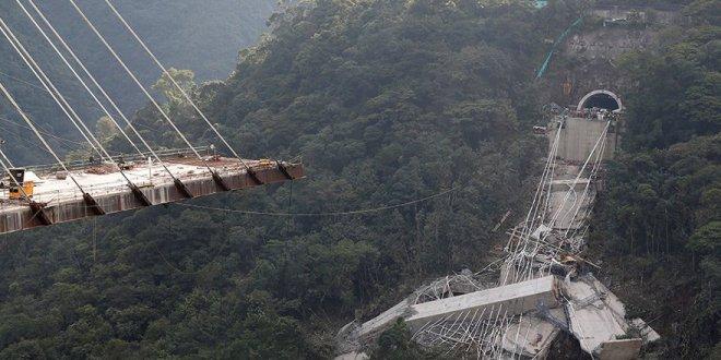 Köprü inşaatında facia