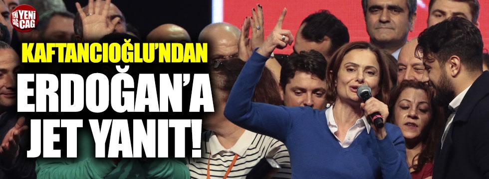 Kaftancıoğlu'ndan Erdoğan'a cevap
