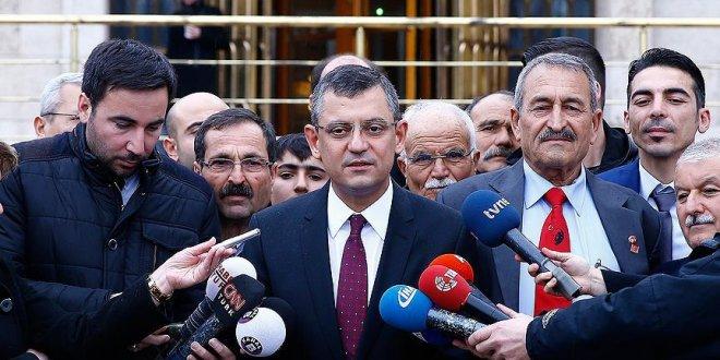 """CHP Grup Başkanvekili Özgür Özel: """"MHP kepenkleri indirmiştir"""""""
