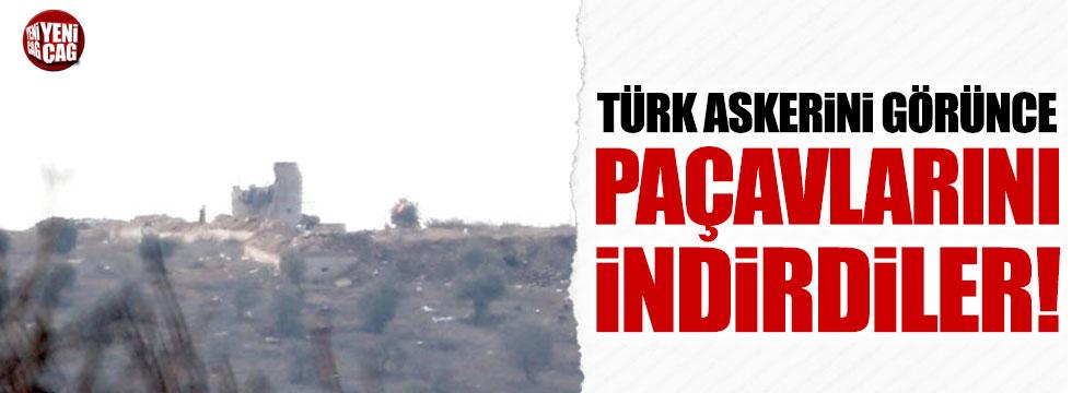 Afrin'de PYD/PKK paçavraları indirildi