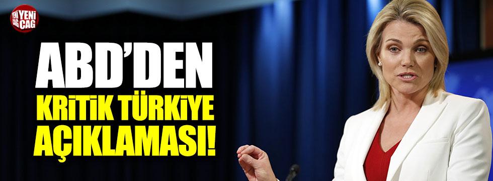 """Nauert: """"Türkiye önemli ve değerli bir NATO müttefikidir"""""""