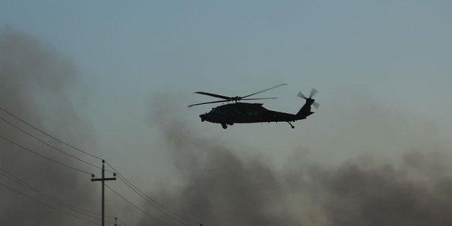 O ülkede askeri helikopter düştü!