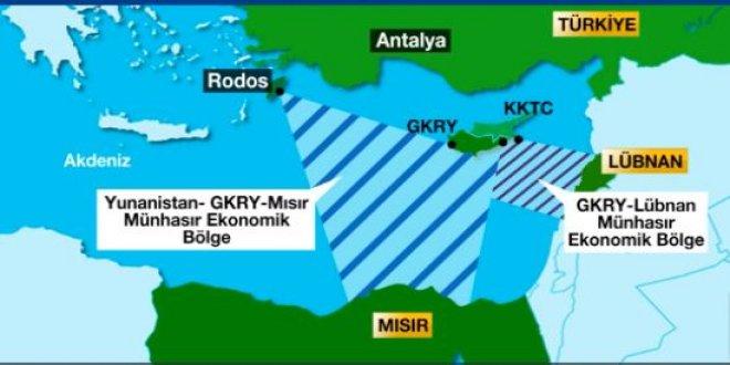 Rumların hedefi Antalya açıkları
