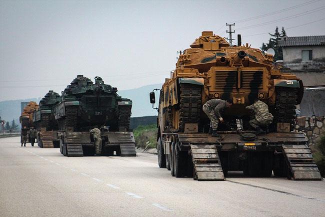 Suriye'ye tank sevkiyatı sürüyor