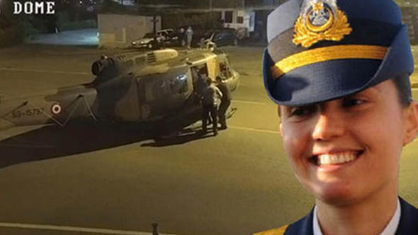 Darbecileri Vodafone Park'a indiren FETÖ sanığı kadın pilot, suçlamaları reddetti