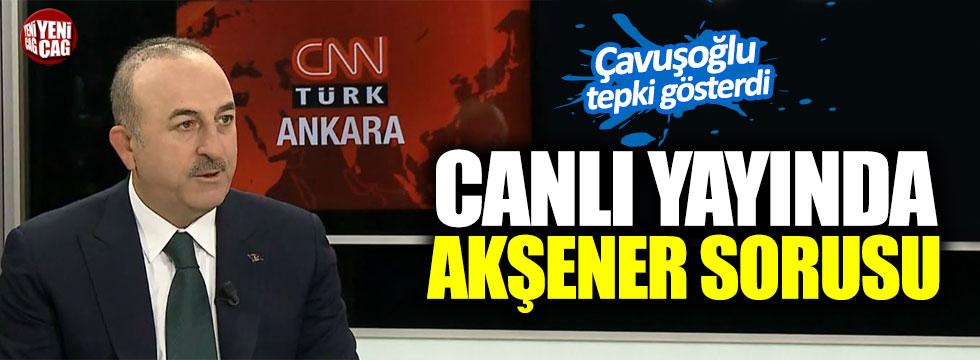 Çavuşoğlu'ndan, Akşener'in o sözlerine tepki