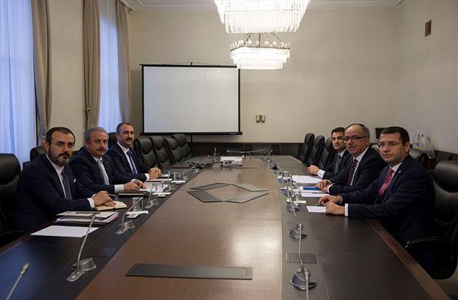 AKP-MHP ittifak komisyonu sonrası açıklamalar