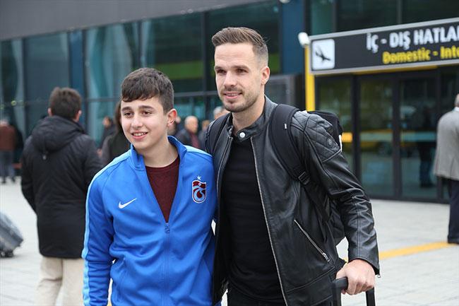 Trabzonspor Novak'ı borsaya bildirdi