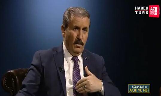 BBP lideri Mustafa Destici: Erdoğan bana teklifte bulundu