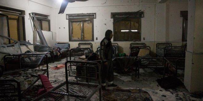 PKK/PYD Afrin'de hastaneyi vurdu