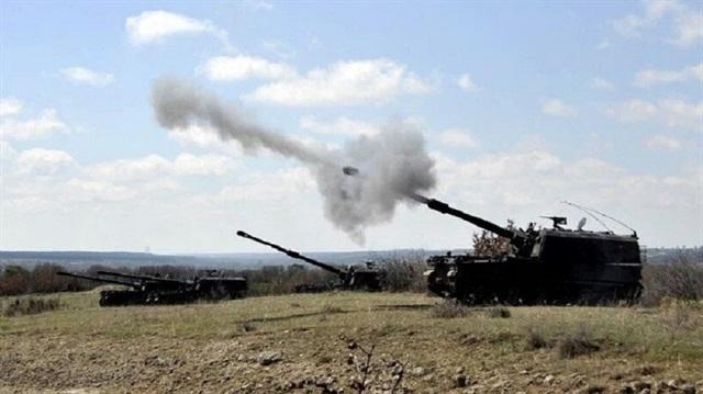 Afrin'e top atışları başladı