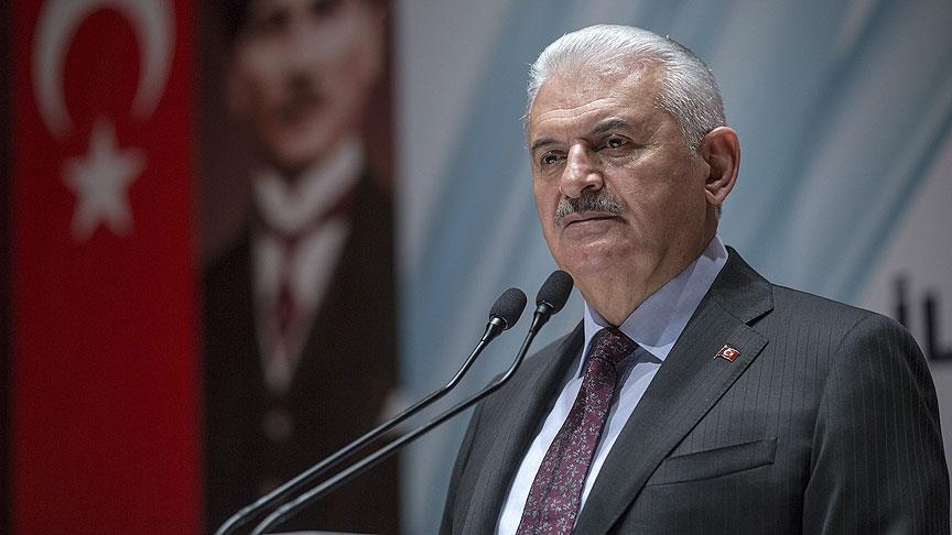 """Yıldırım: """"Türkiye terör örgütlerine pabuç bırakır mı?"""""""