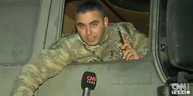Tank komutanı: Dualarınızı esirgemeyin