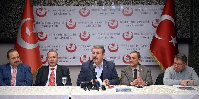 Destici'den Afrin harekatına destek