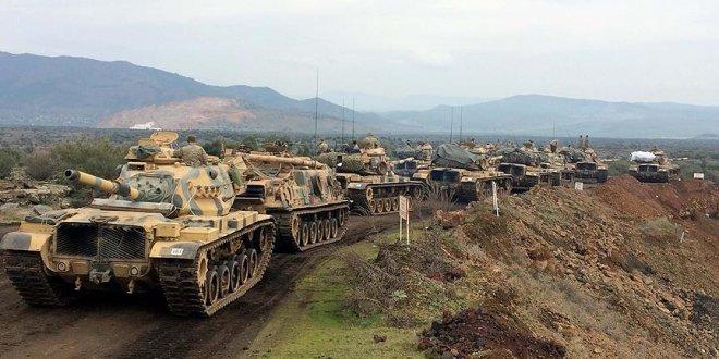 Azerbaycan'dan Zeytin Dalı Harekatı'na destek