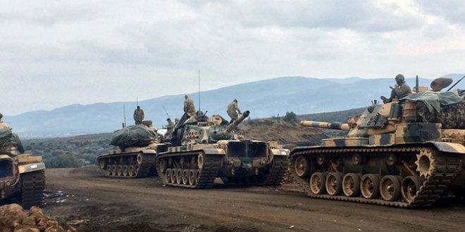 Afrin'deki kara harekatından ilk fotoğraflar