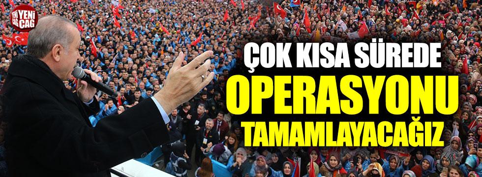 """Erdoğan: """"Teröristlerin nasıl kaçtığını görüyorum"""""""