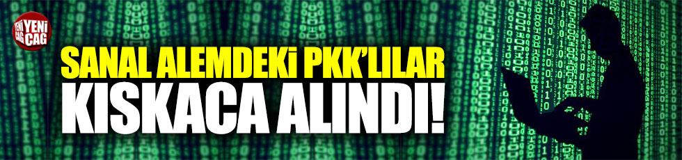 Sanal alemdeki PKK'lı teröristler kıskaca alındı!