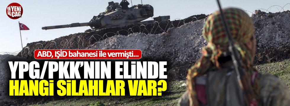 İşte YPG/PKK'nın elindeki silahlar