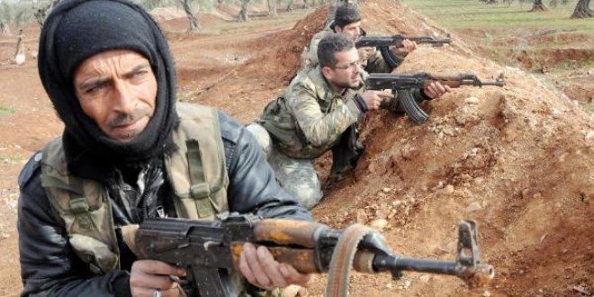 PKK/PYD mevzileri böyle ateş altına alındı