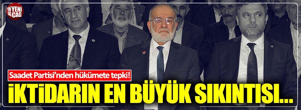 """Karamollaoğlu : """"AKP'nin en büyük sıkıntısı çok fazla zikzak çizmesidir"""""""