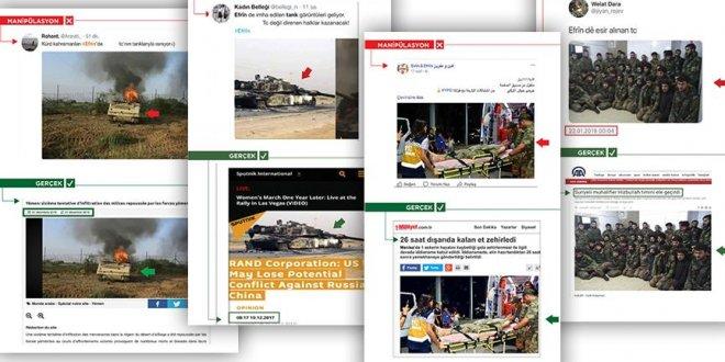 PKK'nın sosyal medya yalanları gün yüzüne çıkıyor