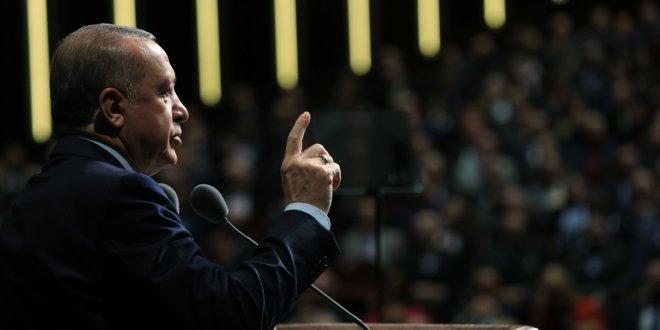 """Erdoğan: """"Ülkemizin hiç kimsenin bir karış toprağında gözü yoktur"""""""