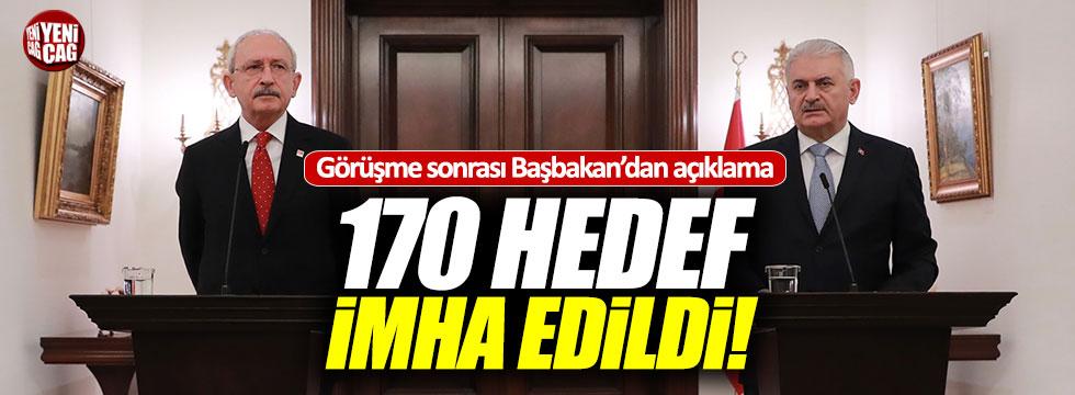 Yıldırım, Kılıçdaroğlu görüşmesi sona erdi