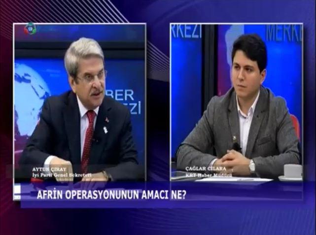"""İYİ Parti'den Afrin açıklaması: """"Esad'la işbirliğine gidilmeli"""""""