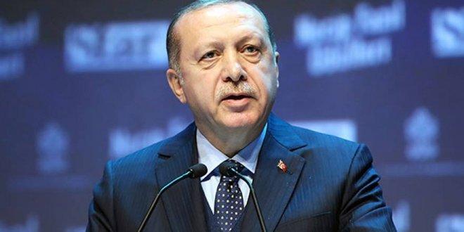 Erdoğan'dan kararlılık mesajı