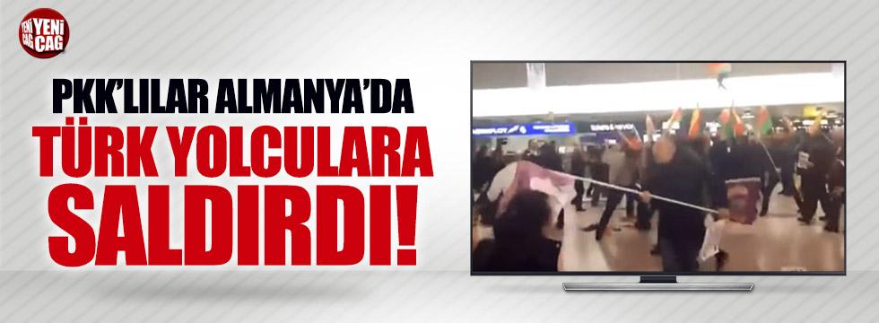 Almanya'da gösteri yapan PKK'lılar Türk yolculara saldırdı