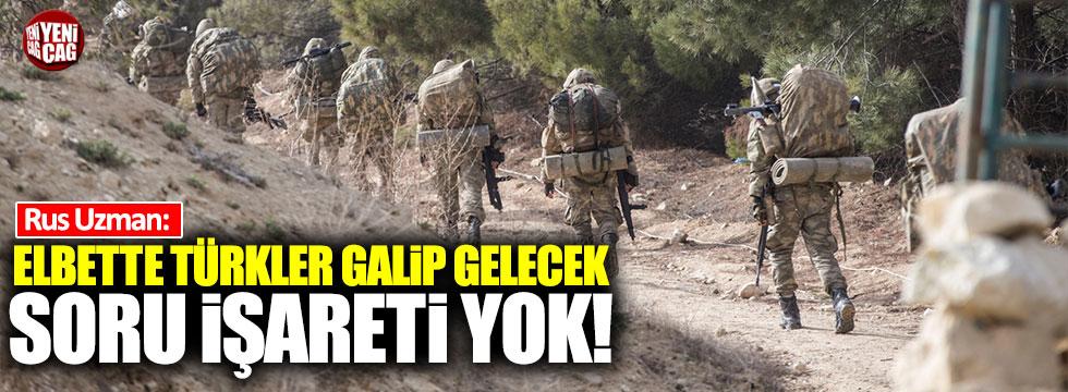 """Rus uzman: """"Soru işareti yok, Afrin'de kazanan taraf Türkiye olacak"""""""