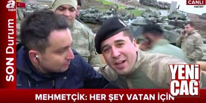 """Askerlerimizden mesaj var: """"Vatan, büyük ve müebbet bir ülkedir: Turan"""""""