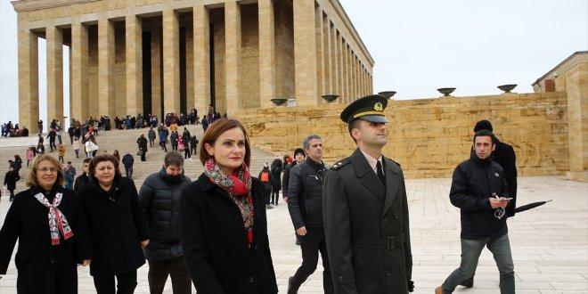 Canan Kaftancıoğlu Anıtkabir'e gitti!