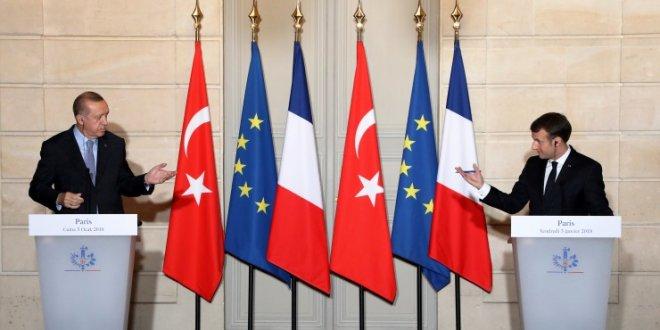Erdoğan, Macron ile Afrin'i görüştü!