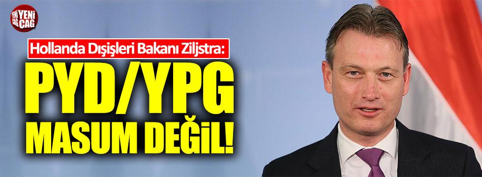 """Hollanda: """"PYD/YPG masum değil, onları hiçbir zaman desteklemedik"""""""