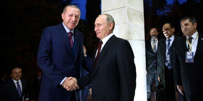 Erdoğan, Putin ile Afrin operasyonunu görüştü