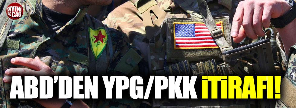 ABD'den PYD/PKK itirafı