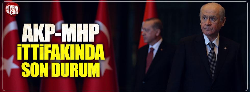 AKP-MHP ittifakında son durum ne?