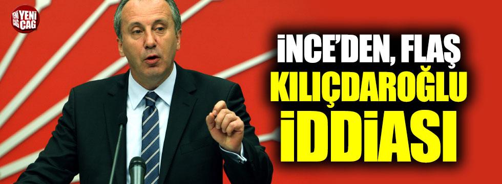"""İnce: """"Kılıçdaroğlu zorla imza toplatıyor"""""""