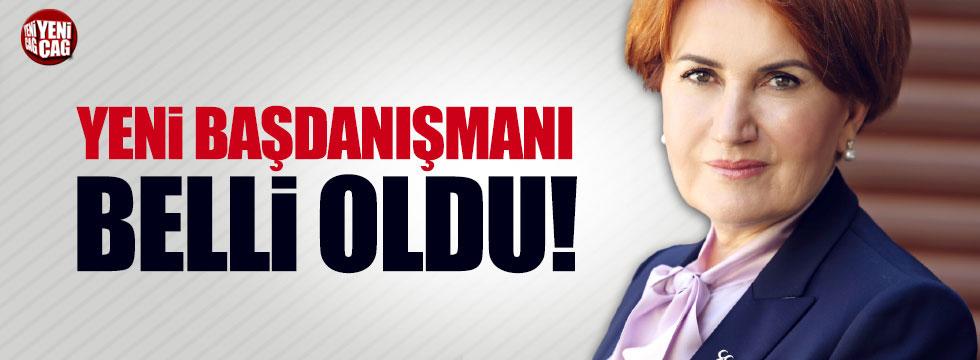 Cihan Paçacı, Akşener'in başdanışmanı oldu