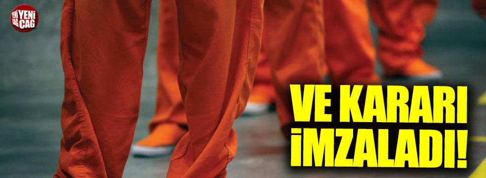 Trump'tan mahkumlarla ilgili kritik karar