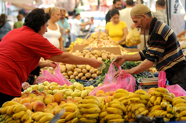 Enflasyon yüzde 12,15'e yükseldi.