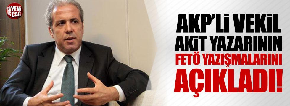 AKP'li Tayyar, Akit yazarı Mehtap Yılmaz'ın FETÖ yazışmalarını açıkladı!