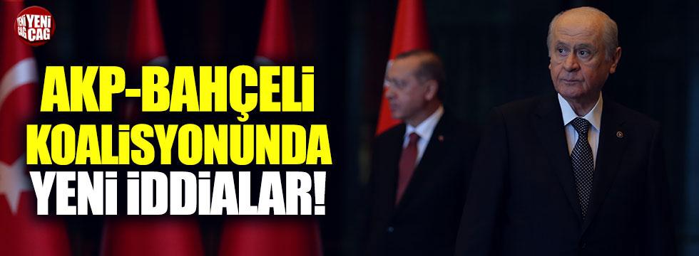 AKP-Bahçeli koalisyonunda yeni iddialar